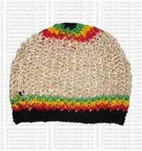 Hemp-cotton crochet hat11