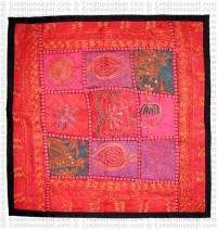Fine-work Rajasthani cushion cover3