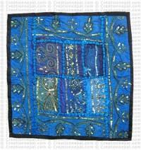 Rajasthani Jari-Sitara cushion2