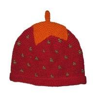 Strawberry design kids hats2