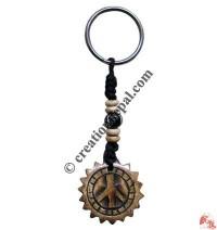 Bone carved key chain 42
