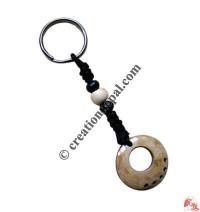 Bone carved key chain 14