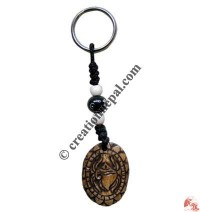 Bone carved key chain 24