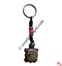 Bone carved key chain 29