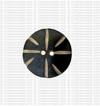 Round small button (Packet of 10)