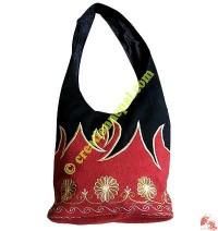 Embroidered BTC Lama bag13