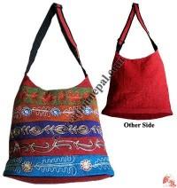 Embroidered BTC Lama bag22