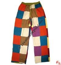 Shyama plain pieces patch-work trouser