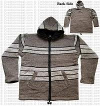 Woolen hooded jacket80