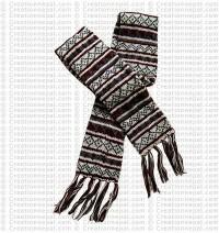 Woolen long muffler1