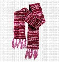 Woolen long muffler2