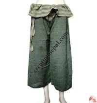Fisherman design quarter length wrapper trouser3