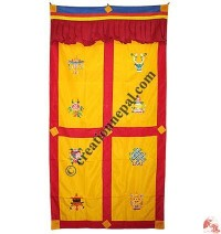 Astamangala polyester door-curtain4