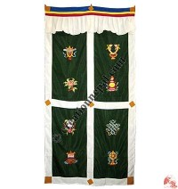 Astamangala polyester door-curtain8