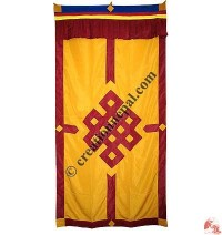 Endless knot polyester door-curtain1