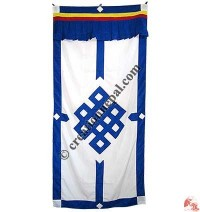 Endless knot polyester door-curtain3