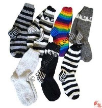Woolen long socks