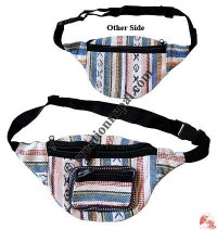 Gheri cotton front wallet belt bag
