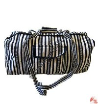 Gheri cotton duffel bag