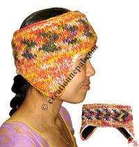 Woolen ear warmer1