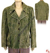 Shyama cotton ladies coat