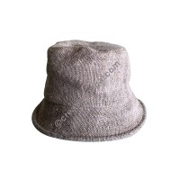 Plain hemp short brim hat
