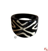 Front widen bone finger ring3