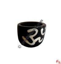 Front widen bone finger ring4