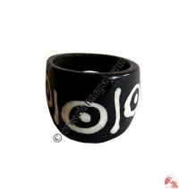Front widen bone finger ring6