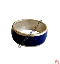 Stone setting white-metal ring2