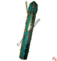 Turquoise setting copper incense holder3