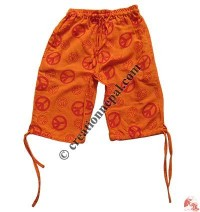 Khaddar kids quarter trouser