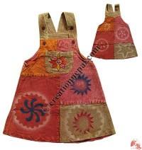 Shyama patch-work dress