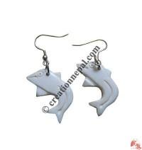 Fish ear ring