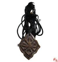 Vajra oval pendant