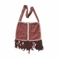 Two patch silk bag