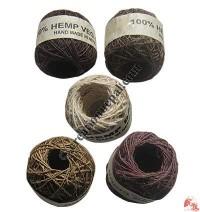 Hemp thick yarn (ball of 30 meters)