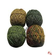 Hemp thin yarn (ball of 30 meters)