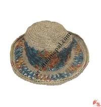 Hemp wire hat