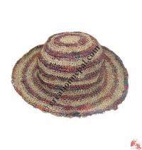 Silk-hemp wire hat