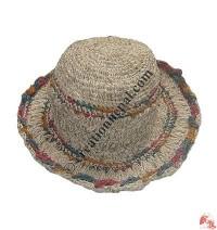 Cotton-hemp wire hat