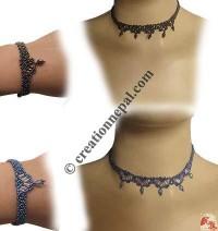 Denis pote necklace-bracelet set 2