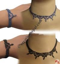 Denis pote necklace-bracelet set 3