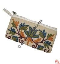 Embroidered Kashmiri purse