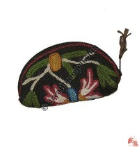 Rainbow shape coin purse