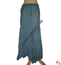 Khaddar long skirt