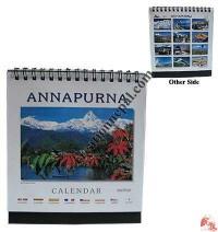 Tiny size Annapurna desktop calendar