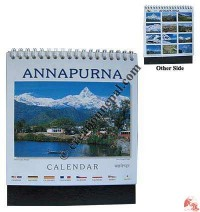 Small size Annapurna desktop calendar