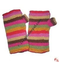 Stripes woolen hand warmer