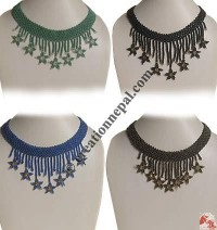 Star frills necklace